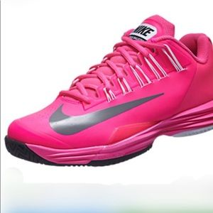 NIKE Lunar Ballistic Tennis Shoes pink!